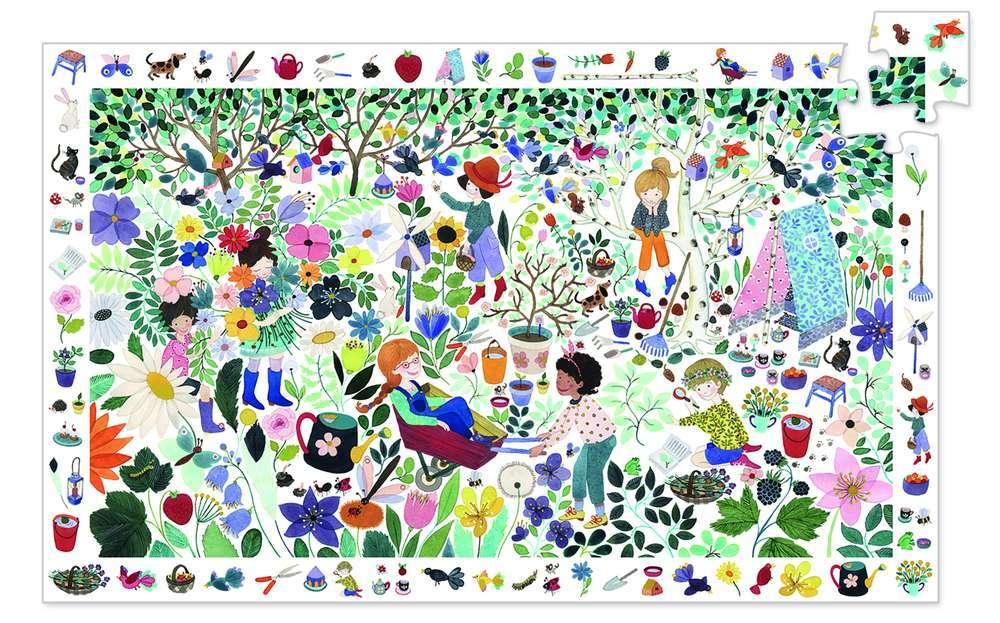 פאזל מסגרת 100 - אלף פרחים