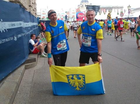 Meta 1/2 maratonu. Wiedeń 2014. Marek Zogornik
