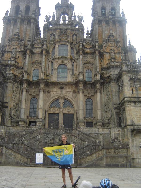 Katedra św. Jakuba, Santiago de Compostela 2010. Kamil Kotas