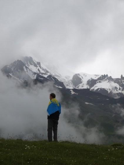 Pod Kazbekiem, Gruzja 2013. Łukasz Tudzierz