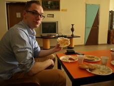 Śniadanie w Hostelu Petra