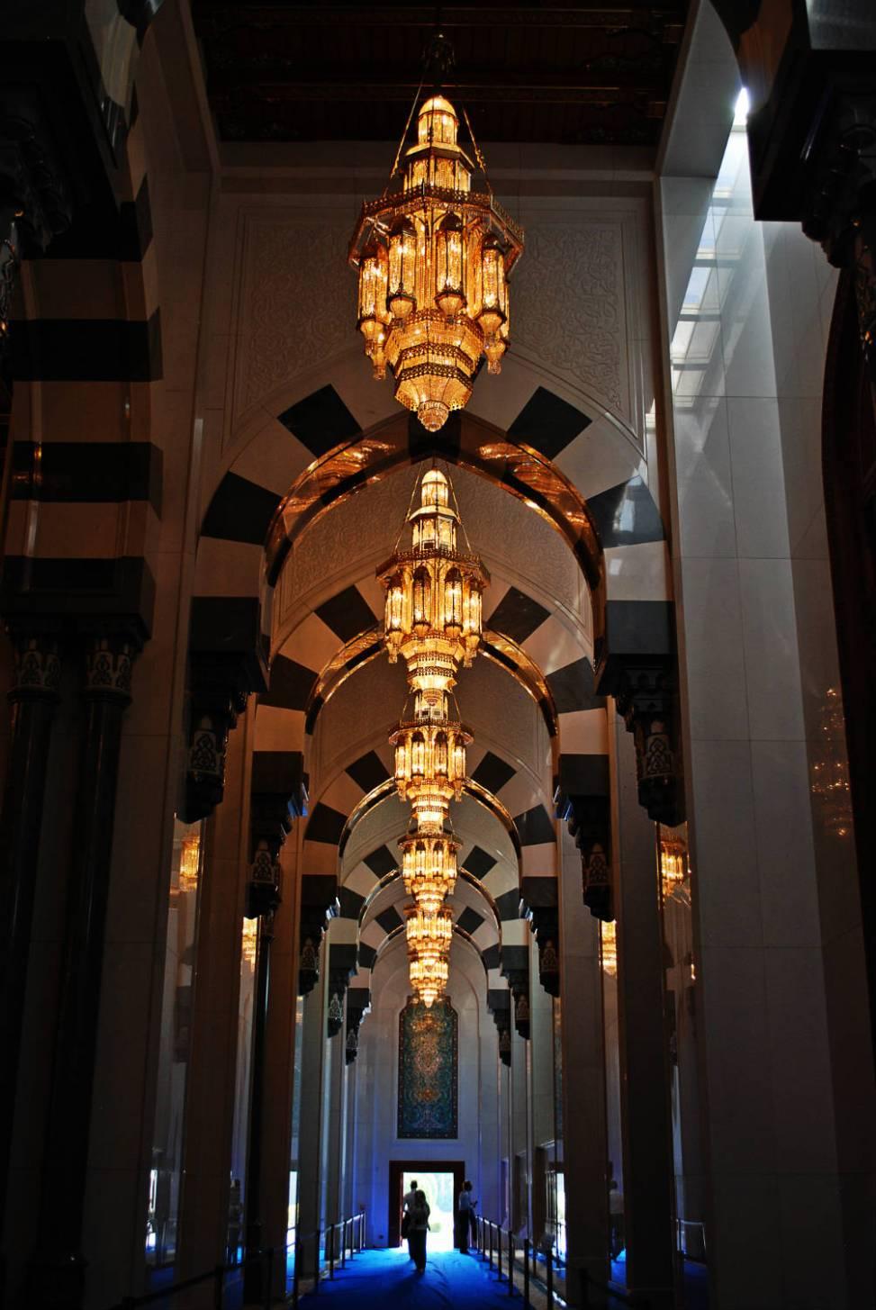 Boczna nawa meczetu