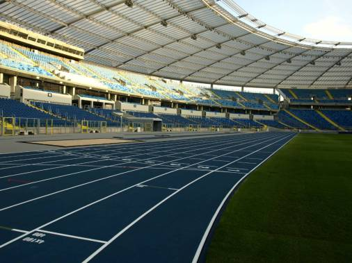 Stadion Ślaski - bieżnia