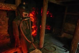 Specjalny skafander, który umożliwiał ratowanie górników