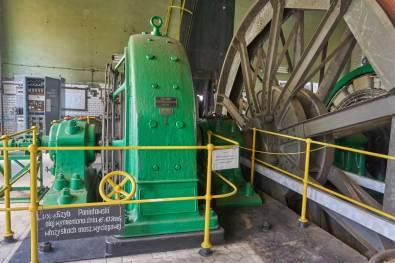 Szyb Poniatowski - maszyna wyciągowa