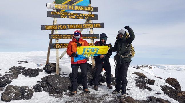 Piotr Bańczyk, Kilimandżaro, luty 2021