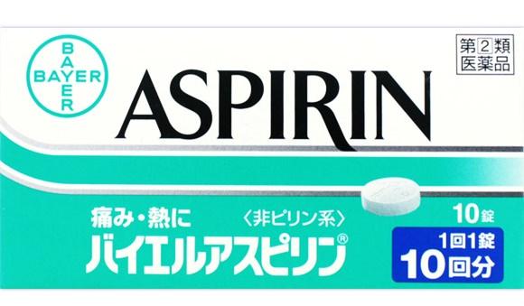 アスピリンなどの痛み止めを使用