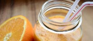 Aurinkoinen appelsiinismoothie