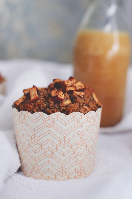 Gluten-free Apple & Date Muffins