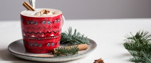 Warming Gingerbread Latte (vegan)