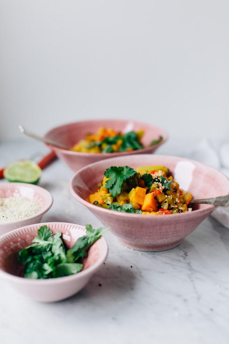 Nourishing Chickpea Stew (Vegan) | tuulia blog