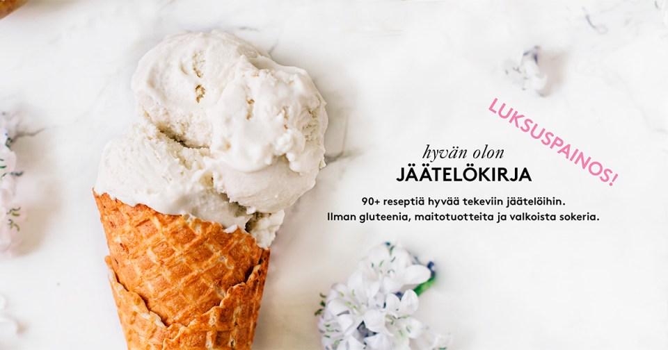 Hyvän olon jäätelökirja e-kirja