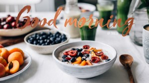My Free E-Book: Good morning by Tuulia