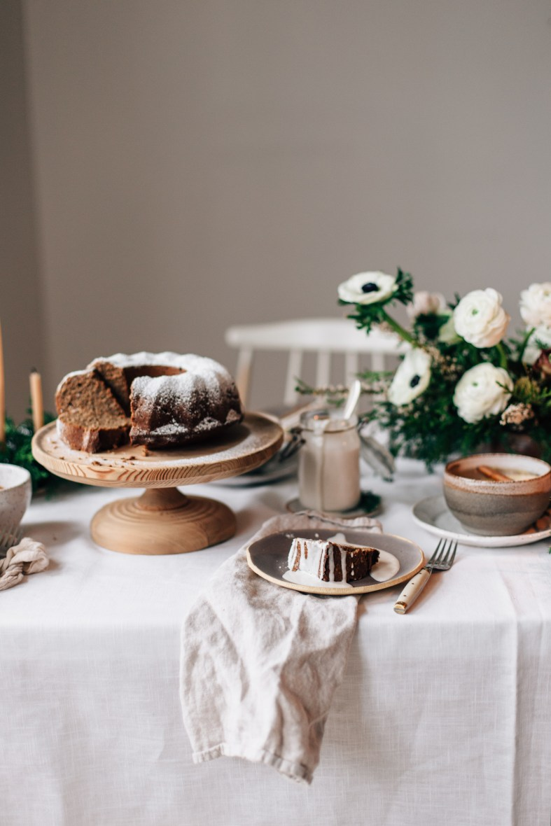 A winter table + a food photography & styling workshop