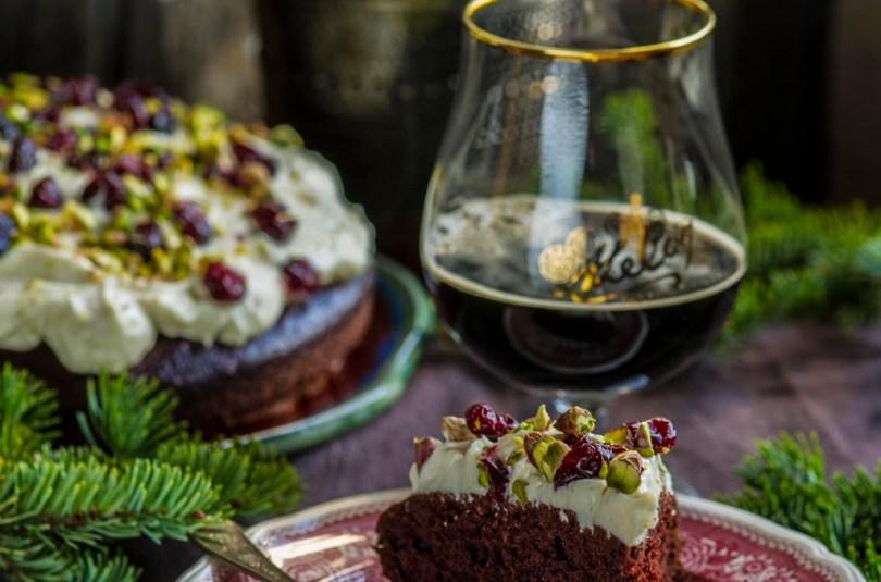 Šokolaadikook kohviporteriga ja toorjuustukattega