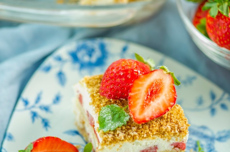 Ice Box Cake ehk jäine vormikook kohupiimakreemiga
