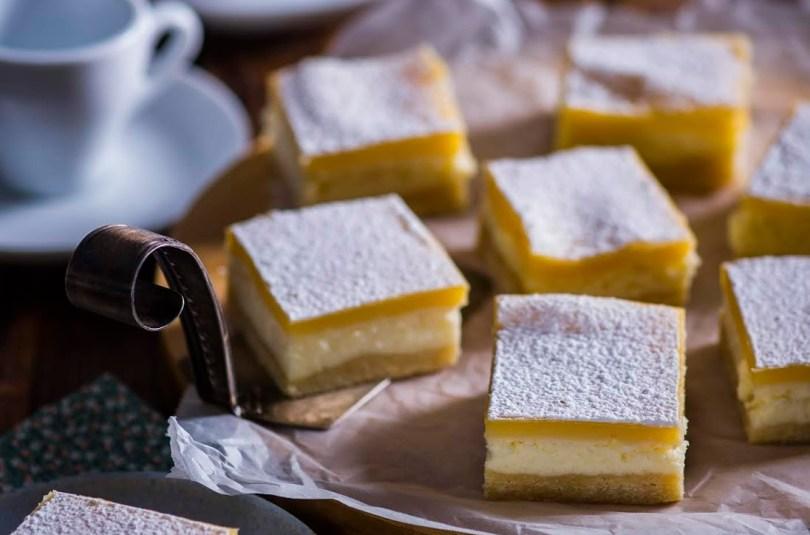 Kihilised sidruniruudud – mõnus hapukasmagus suutäis kohvi kõrvale