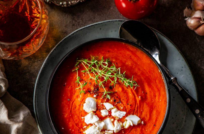 Püreesupp Röstitud tomatitest