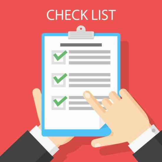 Check list mua nhà
