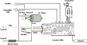 Can I use an LCRU2 to Run a DC Motor | O Gauge Railroading On Line Forum