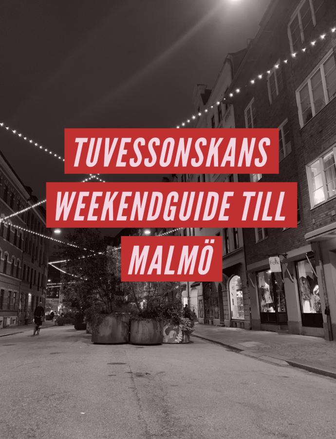 En foodies weekendguide till Malmö