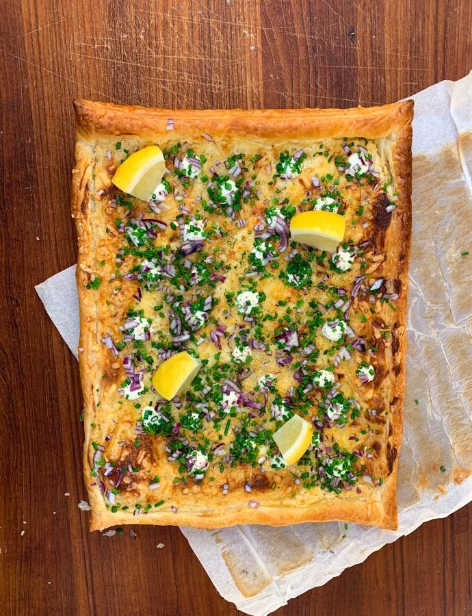 Tuvessonskans midsommarpizza med brynt smör + fler samlade tips på midsommarkäk