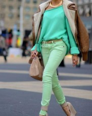 green-mint-street-style-sweater-leather