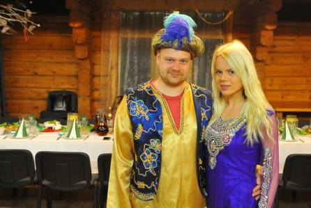 Alvils ar sievu Barbaru. Foto no personīgā arhīva