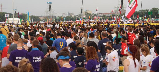 Kā atrast Dievu cilvēku pūlī? Pasaules Jauniešu dienas soli pa solim (+VIDEO)