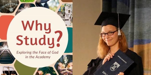 """Studiju jēga, ja tici Dievam. Elīna Tomasa iesaka grāmatu """"Why study?"""""""