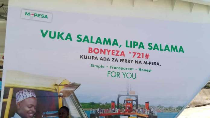 How to pay for the Kenya ferry services using MPESA on your mobile phone