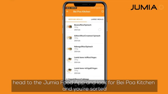 NAS Servair, Jumia Food ink a deal to deliver food in Nairobi at KS 200 dubbed Bei Poa Kitchen