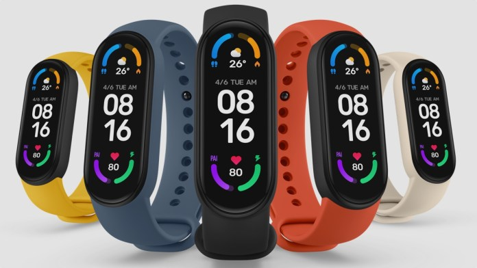 Xiaomi Mi Smart band 6 unveiled with rounded corners and Sp02 tracking capabilities
