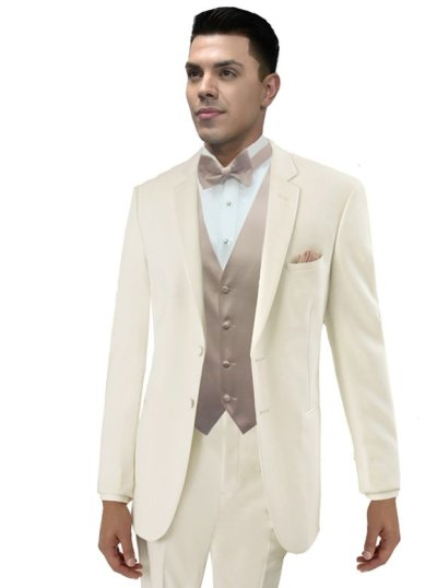 Ivory Essentials Tuxedo by Jean Yves