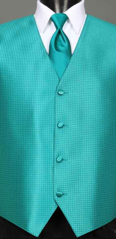 Jade Devon Vest with Jade Windsor Tie