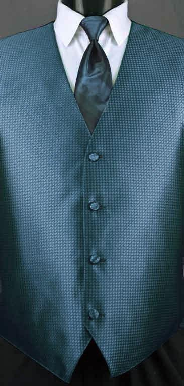 Ocean Blue Devon vest with Ocean Blue Ombre Windsor tie