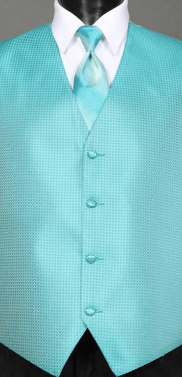 Pool Devon vest with Pool Ombre Windsor tie