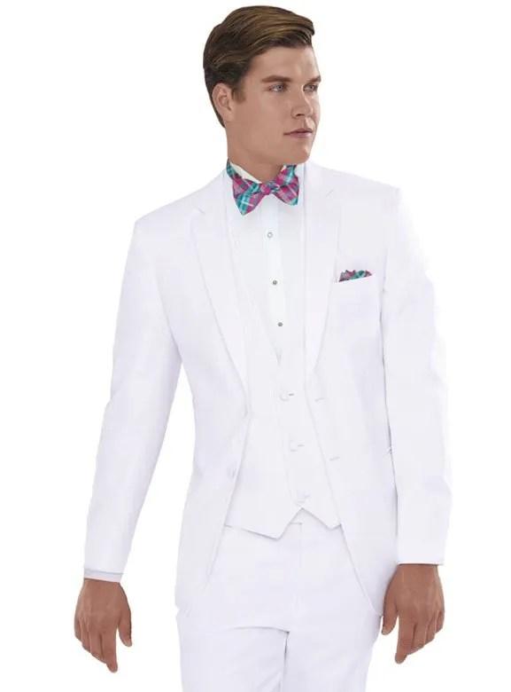 White Modern Essentials Tuxedo by Jean Yves