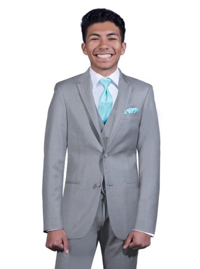 Stone Grey Brooklyn suit by Ike Behar