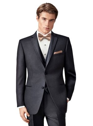 Charcoal Grey Manhattan tuxedo