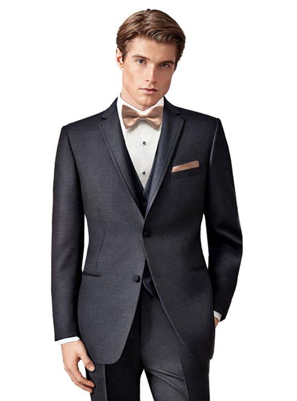 Charcoal Grey Manhattan tuxedo