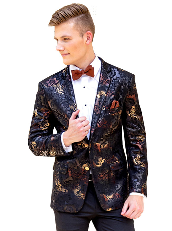 Ryan Floral jacket by Mark of Distinction