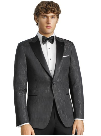 Charcoal Matrix Tuxedo by Couture 1910