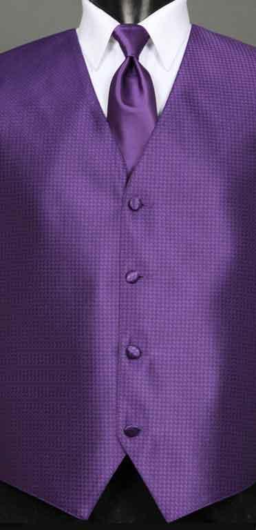Regency Devon Vest with matching Windsor Tie