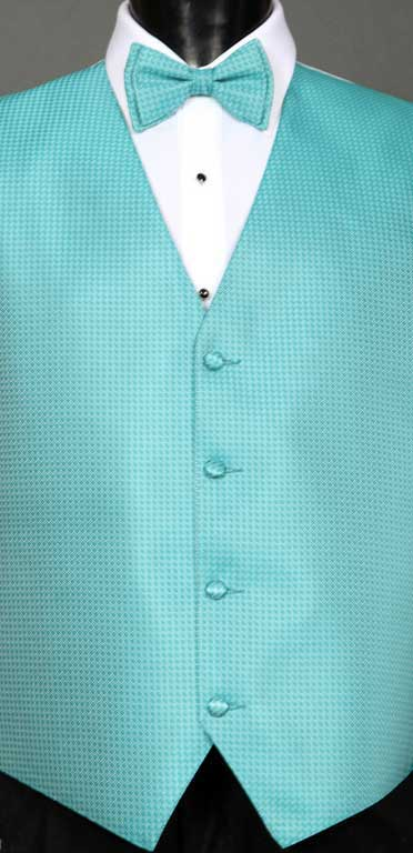 Pool Devon Vest with matching bow tie