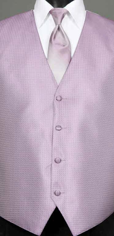 Wisteria Devon vest with Wisteria Ombre windsor tie