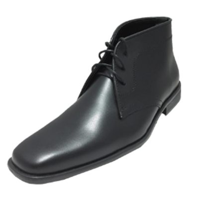 Black Matte Boot by allure for men