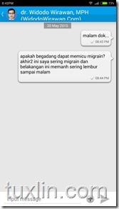 Review Aplikasi Chat Doctor Tuxlin Blog09
