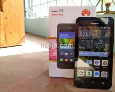 Review Huawei Y3 Batik