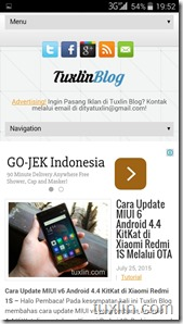 Screenshots Review BenQ B502 Tuxlin Blog26